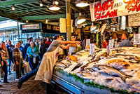 Pike Place Fish Market: The Toss